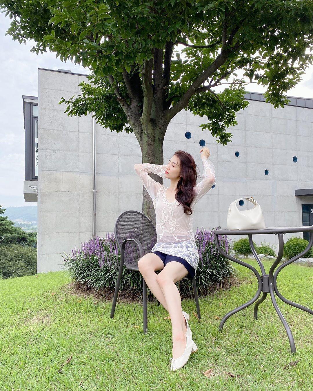 '류수영♥' 박하선, 청순 여신의 아름다운 자태 [리포트:컷]