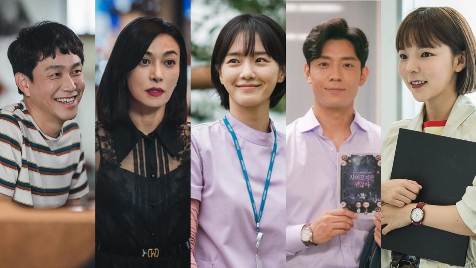 오정세·장영남·박규영·김주헌·박진주, '사이코지만 괜찮아' 명품 배우 5人 종영 소감