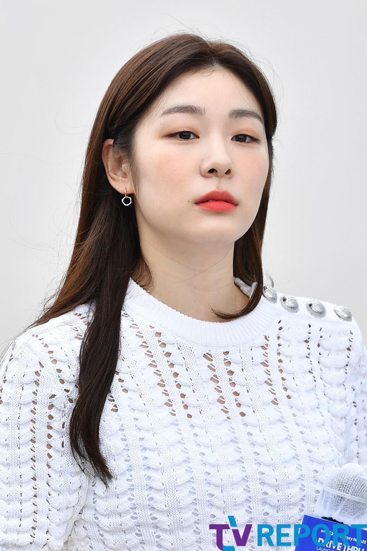 [T포토] 김연아 '오늘은 미모퀸'