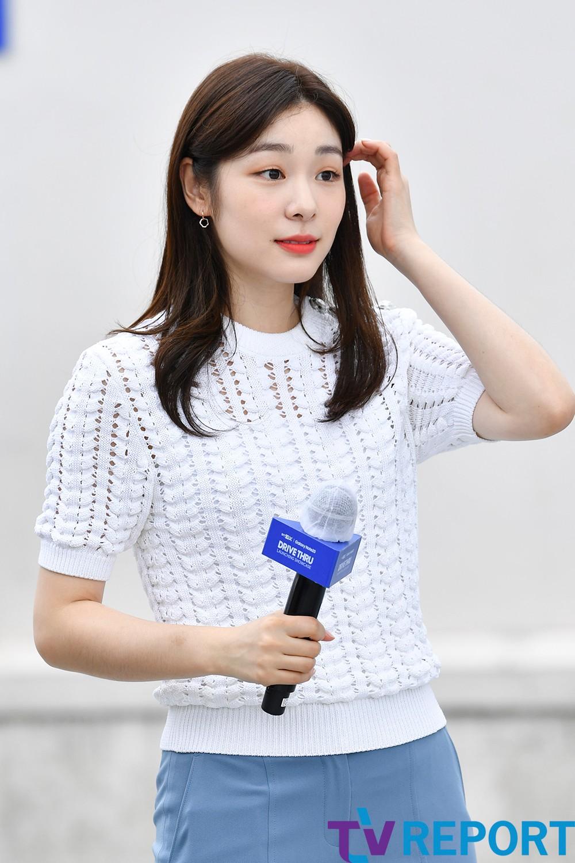 [T포토] 김연아 '머리 넘겨, 여신'