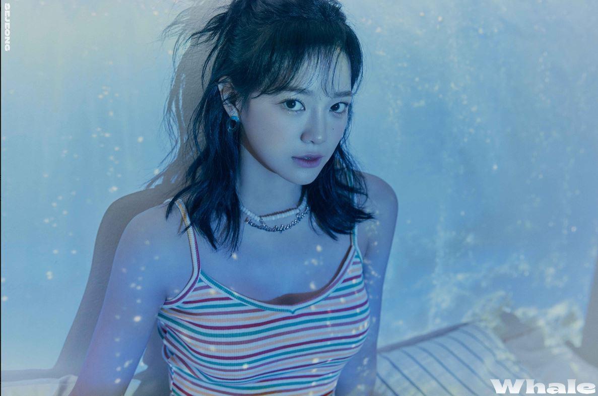 """""""넘사벽 인형미모""""…세정, 새 싱글 'Whale' 포토 공개"""
