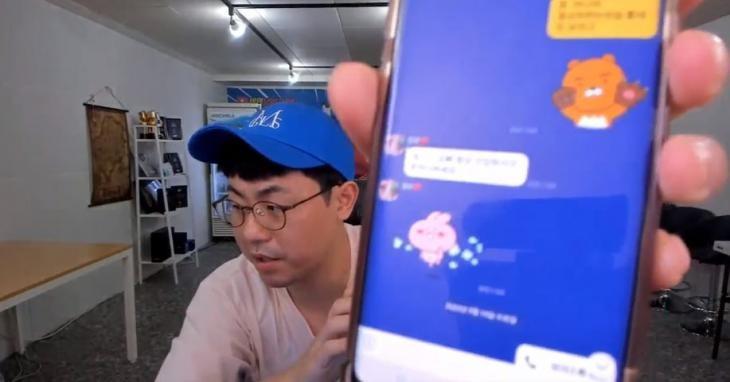 """""""긴 말 필요 없다""""…BJ만만 아내 경리, BJ엉두 논란에 CCTV 공개"""