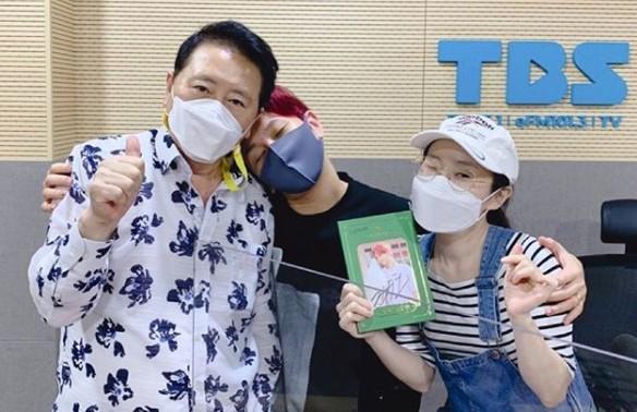 """'허리케인' 박슬기 """"박보검, 젠틀함과 착한 심성 최고...드라마 본방사수 중"""""""