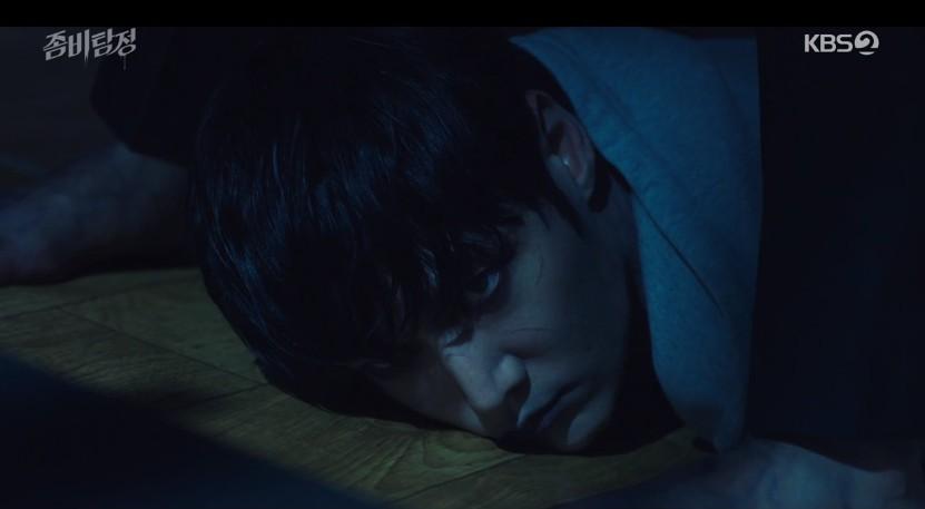 첫방 '좀비탐정' 최진혁, 지워진 과거 찾고자 좀비탐정 됐다... 박주현과 추격전[종합]