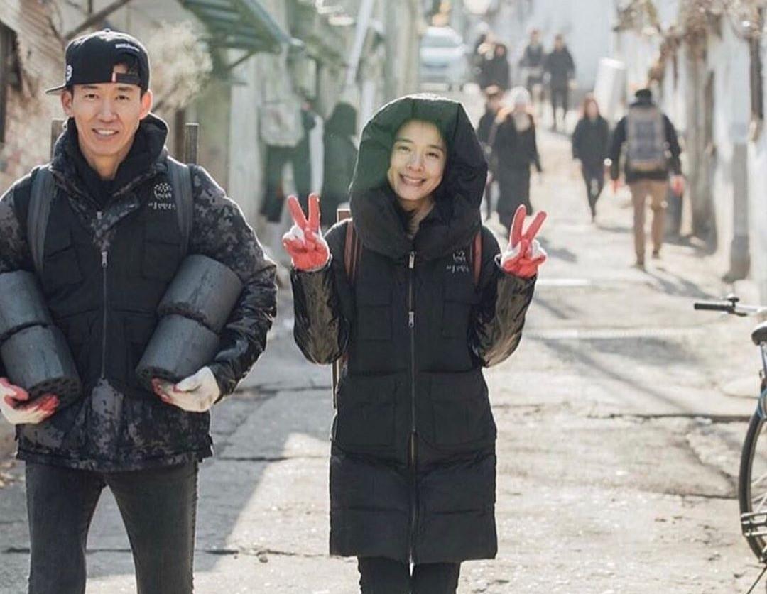정혜영♥션, 천사가 분명해…마음도 미소도 아름다운 부부 [리포트:컷]