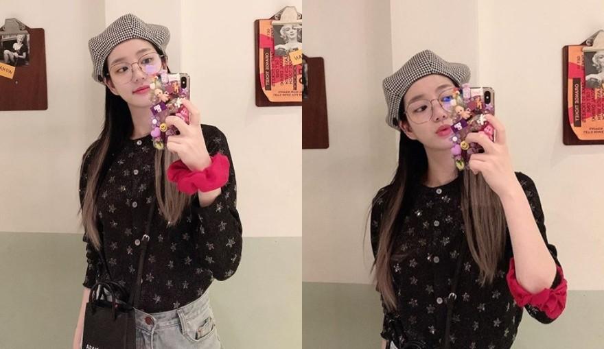 이유비, 반전 꾸럭美+모자 패션으로 뽐낸 인형미모 [리포트:컷]