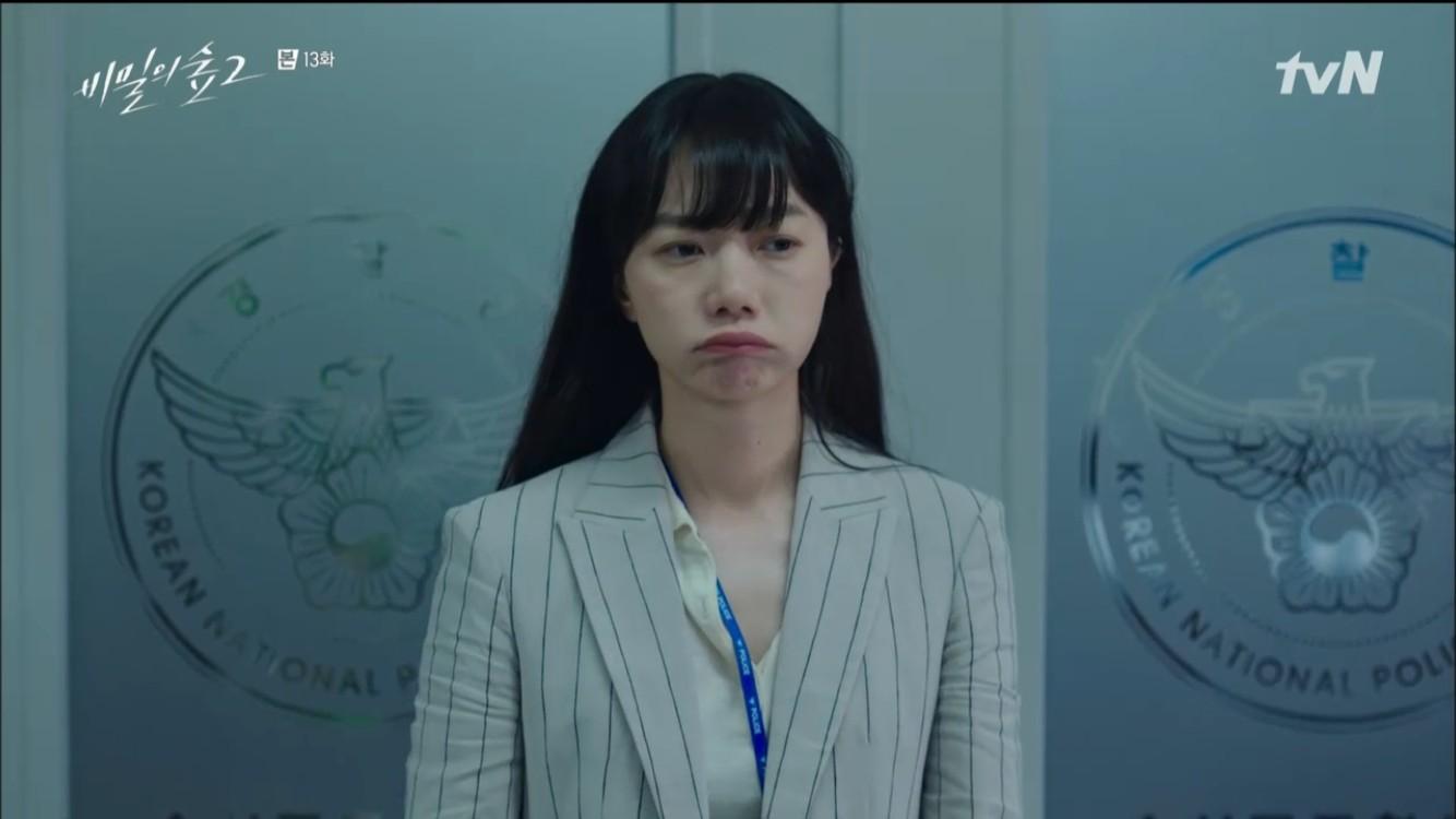 """'비밀의 숲2' 배두나, 전혜진에 """"실종 수사 계속하고 싶다. 범인 찾고파"""""""