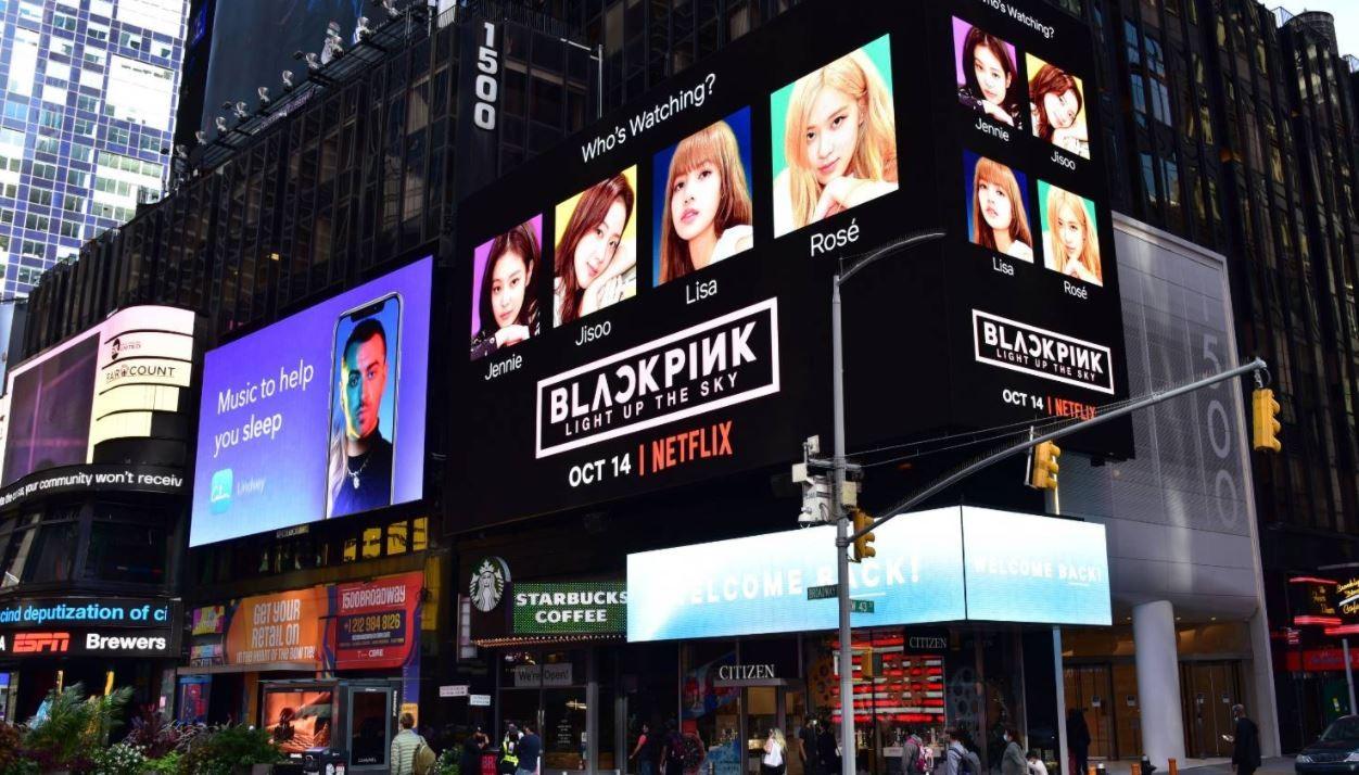 블랙핑크, 뉴욕 타임스퀘어 장식한 이유?