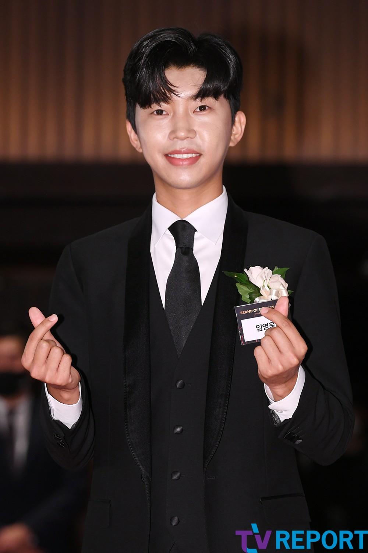 [T포토] 임영웅 '여심 흔드는 하트'