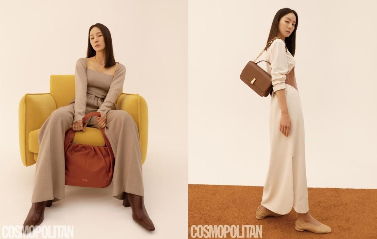 이휘재 아내 문정원, 패션화보로 뽐낸 아름다움... 여배우 같아
