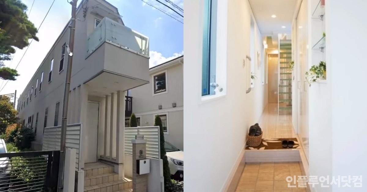 """""""모나미 볼펜 아니야?""""...일본에서 7억에 판매된 '협소 주택' 비주얼"""