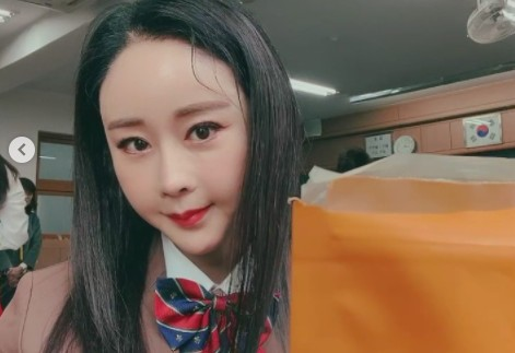 함소원, 여고생 복장도 완벽소화 '눈부신 동안미모' [리포트:컷]