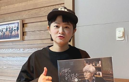 """'정희' 김신영 """"아이유 덕분에 어깨 으쓱했던 사연...더 바랄 게 없다"""""""