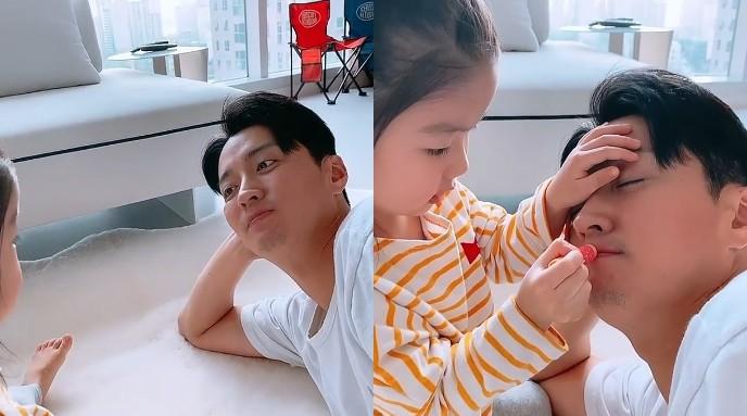 """소이현, 인교진X딸 소은 행복 일상 공개 """"립밤 발라주는 효녀"""" [리포트:컷]"""