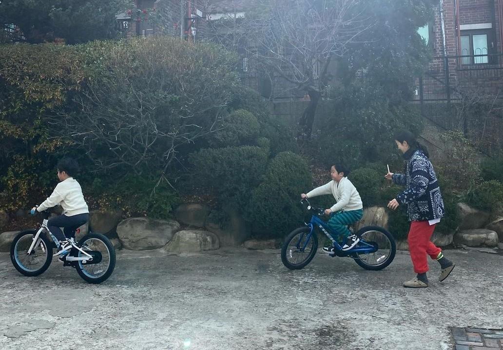 """'이휘재♥'문정원, 자전거 타는 서언·서준 보며 안절부절 """"드디어 성공"""""""