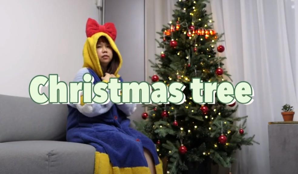 홍현희, 세 번째 크리스마스트리 제작에 '감동'