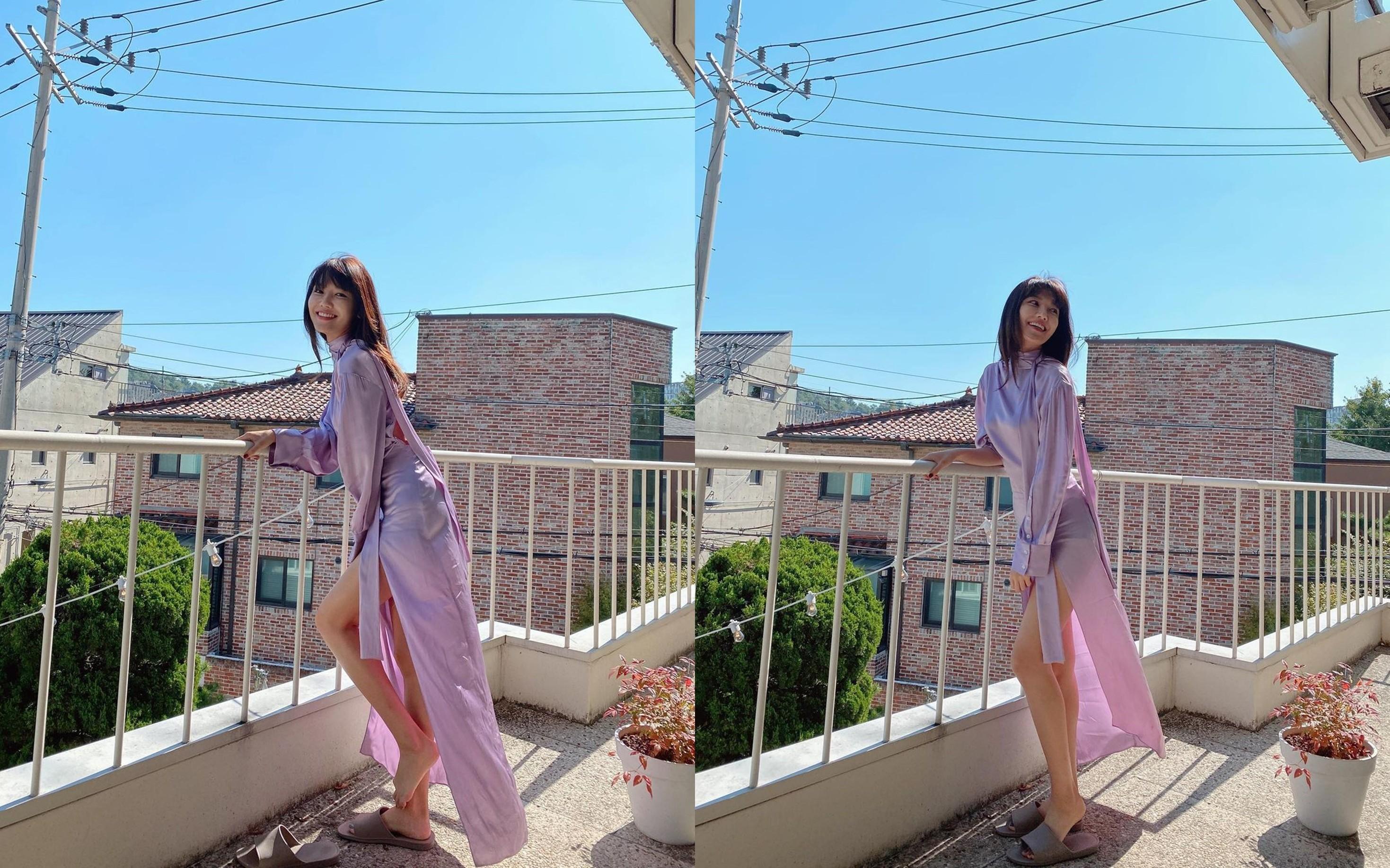 최수영, ♥정경호 반한 명품 각선미 자랑 [리포트:컷]