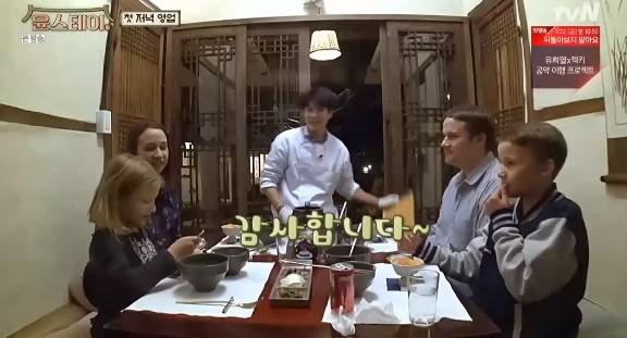 """'윤스테이' 외국인 게스트들 취향저격 """"최고의 식사""""→이서진 """"인턴 최우식 타고났다"""" [종합]"""
