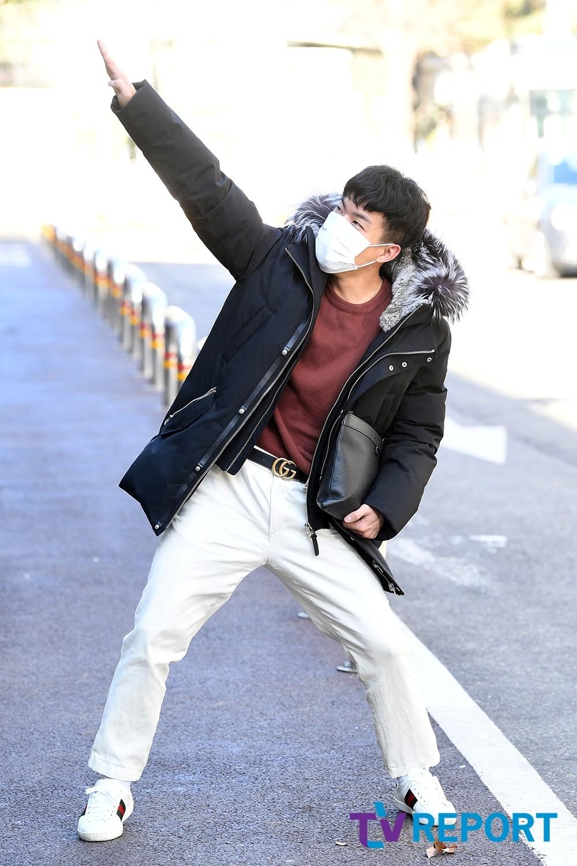 [T포토] 나태주 '슈퍼맨이 되고 싶어'