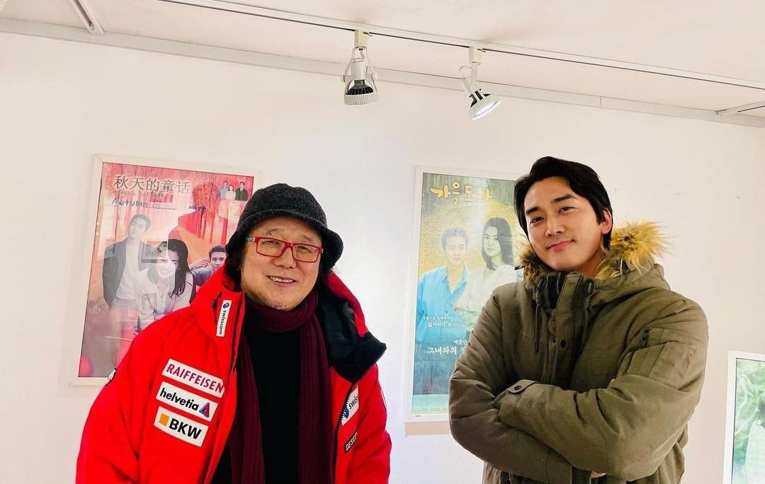 송승헌, '가을동화'-'여름향기' 추억…훈훈함은 그대로네 [리포트:컷]
