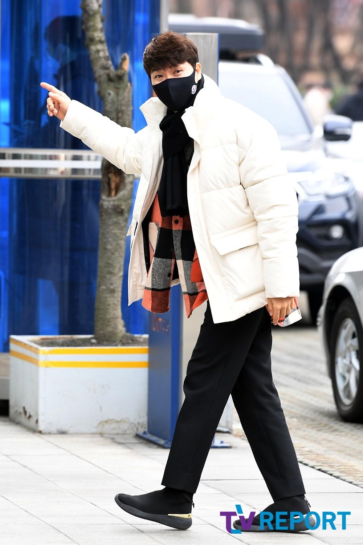 """[T포토] 박수홍 """"바로 들어가야해요"""""""