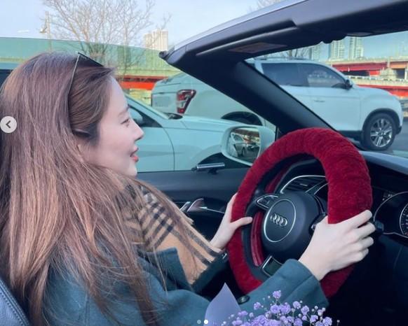 서현, 운전 중에도 빛나는 미모 '러블리 여신' [리포트:컷]