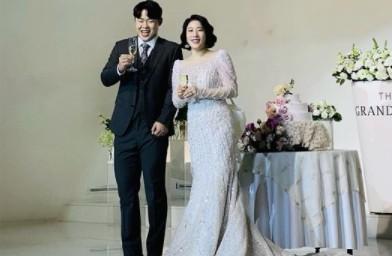 """'새신부' 김영희, 결혼소감 """"어제가 꿈같이 지나가, 죄송하고 감사한 마음"""""""