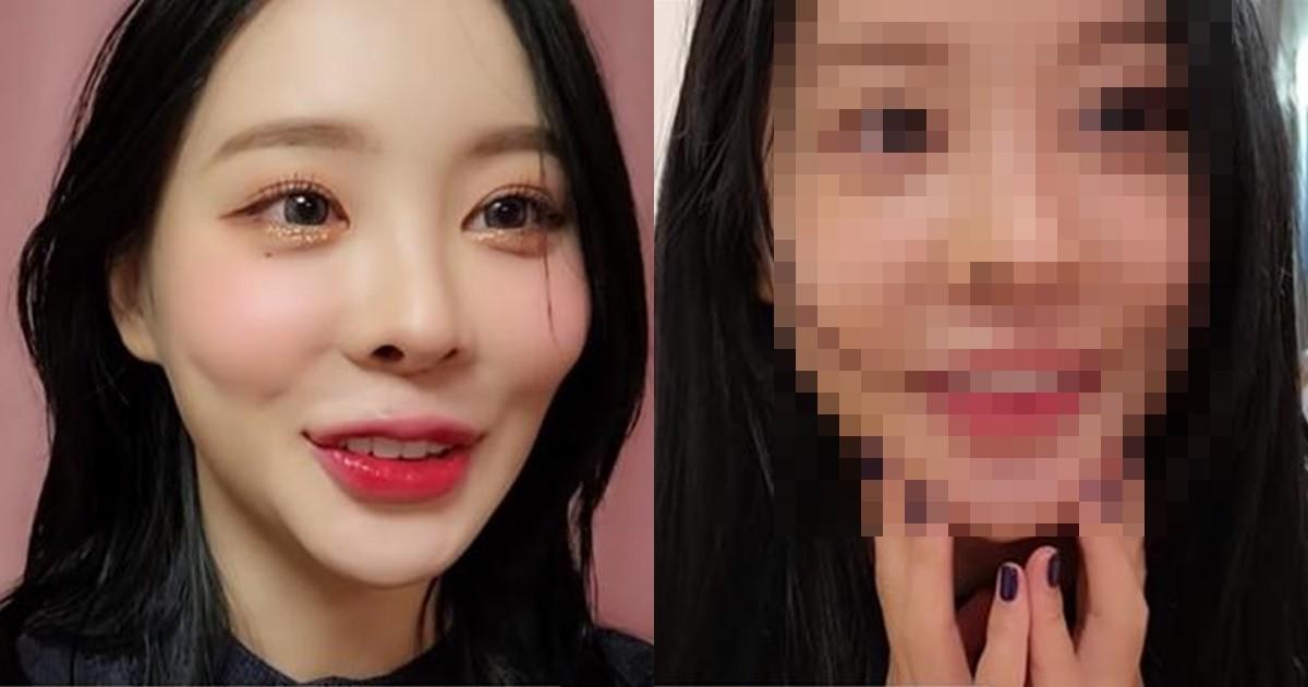"""""""화장이 미모 가려""""…BJ탱글다희, 방송 활동 5년 만 최초 민낯 공개"""