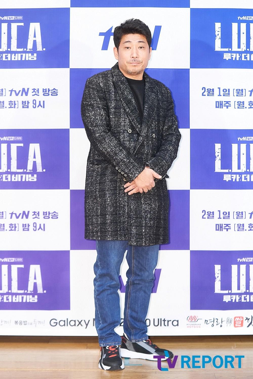 [T포토] '루카 : 더 비기닝'의 김홍선 감독