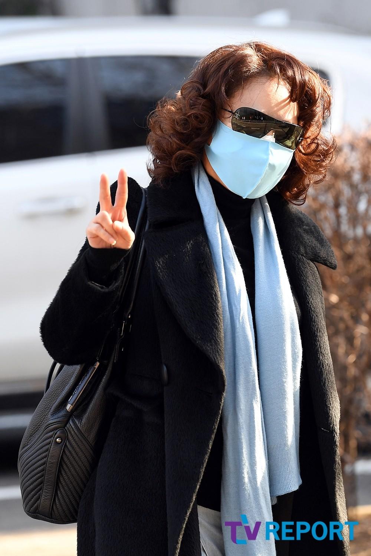 [T포토] 김수희 '시크한 브이'