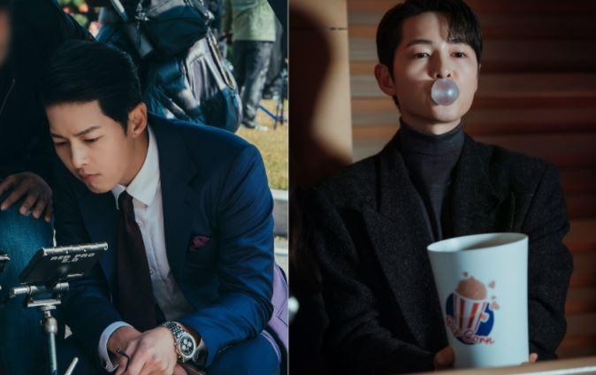 """'빈센조' 측 """"송중기, 기대 이상…다이내믹한 변신 주목"""""""