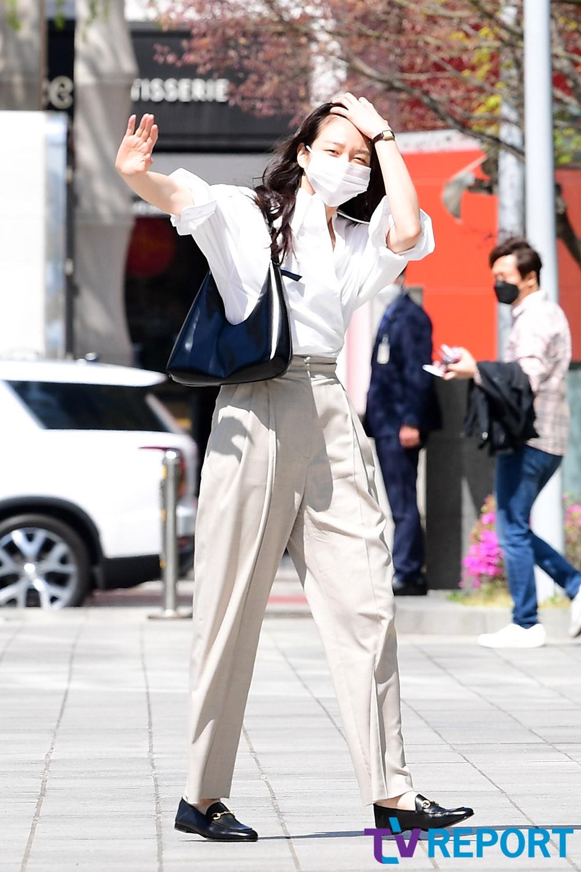 [T포토] 이솜 '컬투쇼에서 만나요'