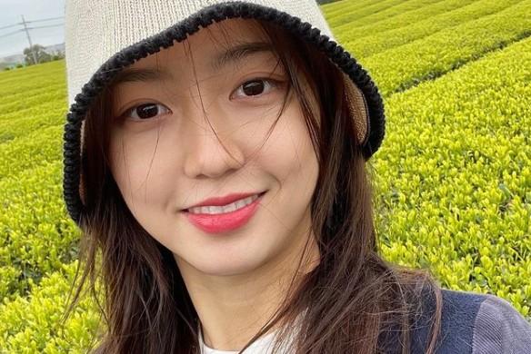 김현수 근황, 봄의 여신 '힐링' [리포트:컷]