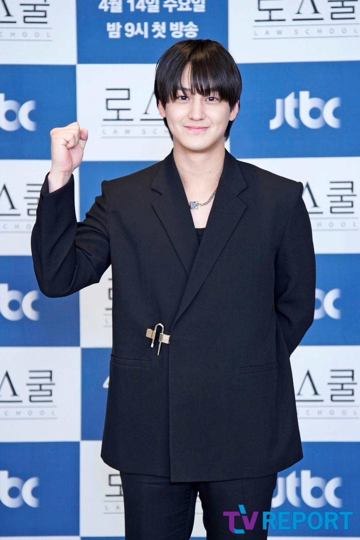 [T포토] 김범 '꽃미남 그 자체'