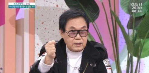 """'아침마당' 조영남, 윤여정 언급…""""내가 바람 피워 이혼"""""""