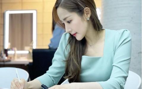 박민영, 그림 같은 미모 '단아미 뿜뿜' [리포트:컷]