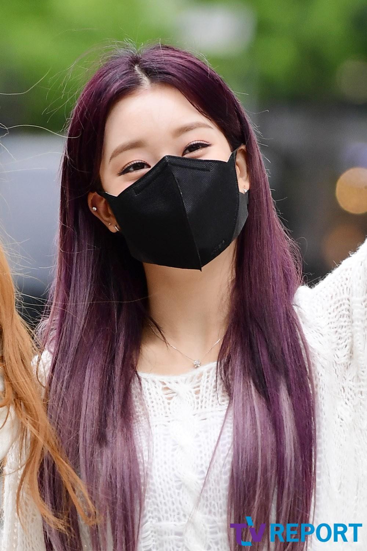 [T포토] 수민 '눈만 보여도 예뻐'