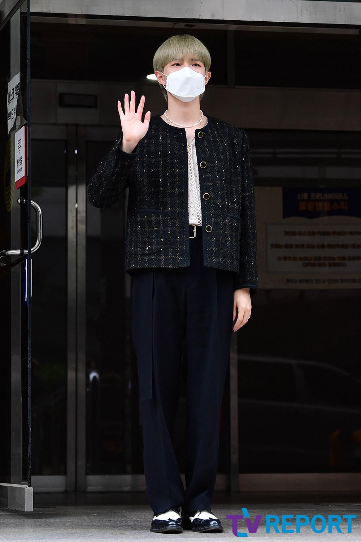 [T포토] 김재환 '귀공자 느낌~'