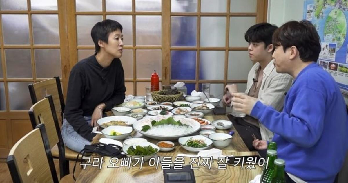 김구라 아들 그리(김동현), 홍진경에 대뜸 전화한 이유
