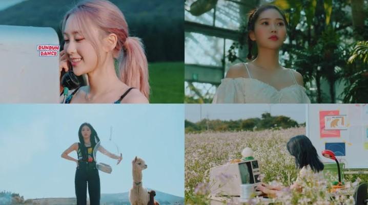 '컴백 D-1' 오마이걸, 신곡 'DUN DUN DANCE' MV 티저 공개