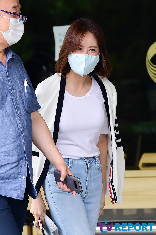 [T포토] 홍은희 '여전한 동안 미모'
