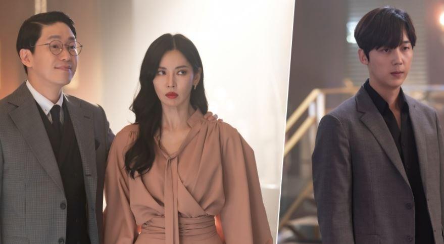'펜트3' 김소연X엄기준X윤종훈, 총성 없는 눈빛 교전