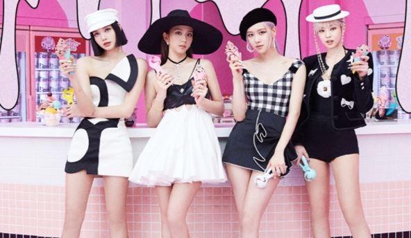 블랙핑크, 'Ice Cream' MV 6억뷰 '10번째'