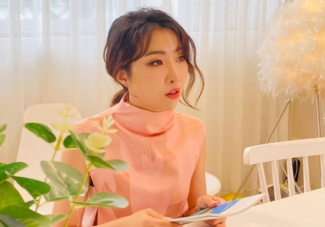 공민지, 핑크 원피스로 우아美 물씬…너무 예뻐 [리포트:컷]