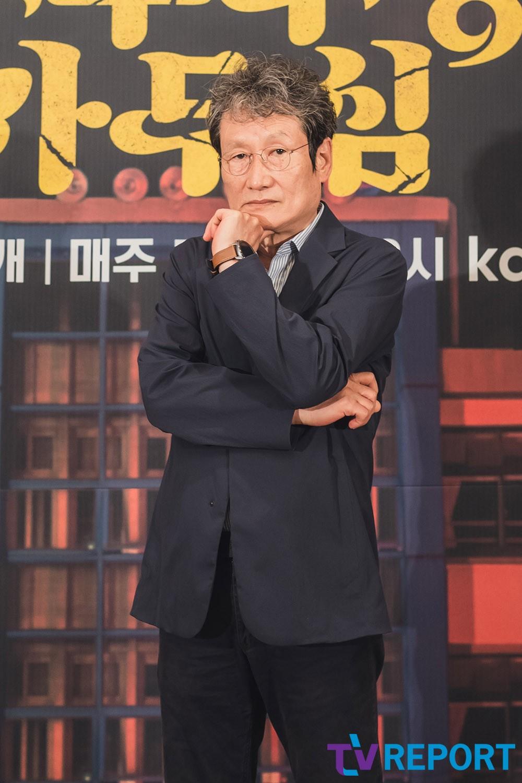 [T포토] 문성근 '베태랑 배우'