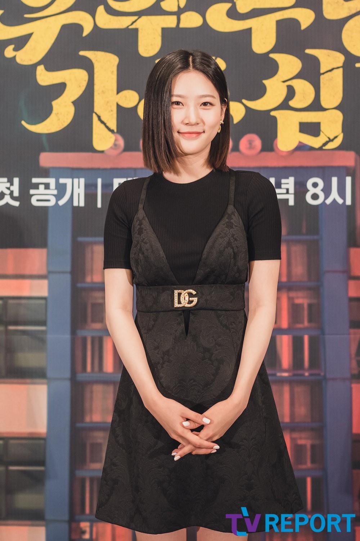 [T포토] 김새론 '똑단발 미소녀'