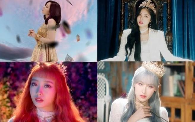 """'데뷔 D-1' 스카이리, '천사의 날개를 내게 줘' MV 티저 공개 """"강렬 이미지"""""""
