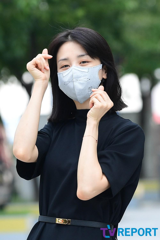 [T포토] 박하선 '하트 뿅뿅'