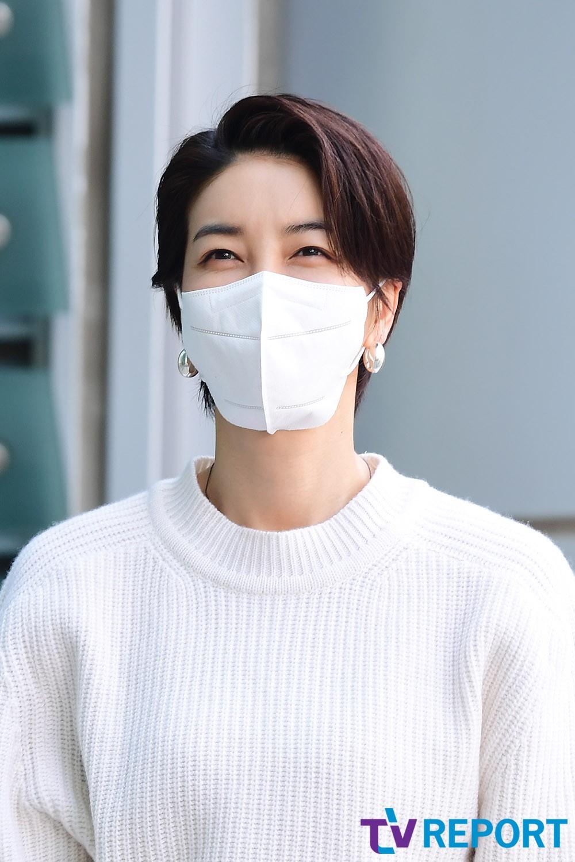 [T포토] 진서연 '숏컷이 찰떡'