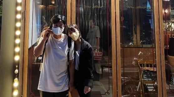 '이수근♥' 박지연, 설레는 키차이 '천생연분' [리포트:컷]